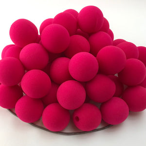 "Pink Premium Foam Clown Nose 1.5"" JCN3015-PINK. Sold in bags of 50. CLICK FOR DISCOUNT PRICING: from $.74 to $.58 per nose."