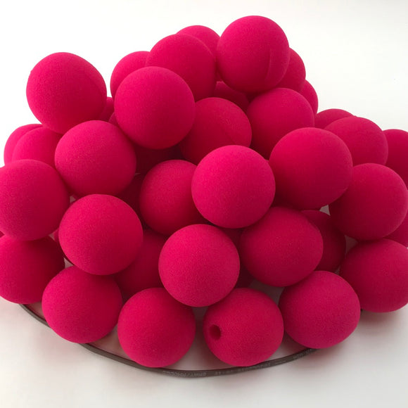 Pink Premium Foam Clown Nose 1.5