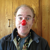 Squaro Clown Nose JCN5004-RED Sold in bags of 10. CLICK FOR DISCOUNT PRICING: from $4.25 to $3.25 per nose.
