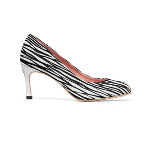 Women's lkf9 High Heels zebra