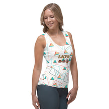 Afbeelding in Gallery-weergave laden, Sublimation Cut & Sew Tank Top