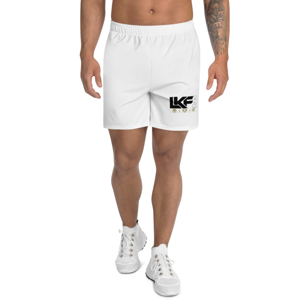 LKF9 Men's Athletic Long Shorts