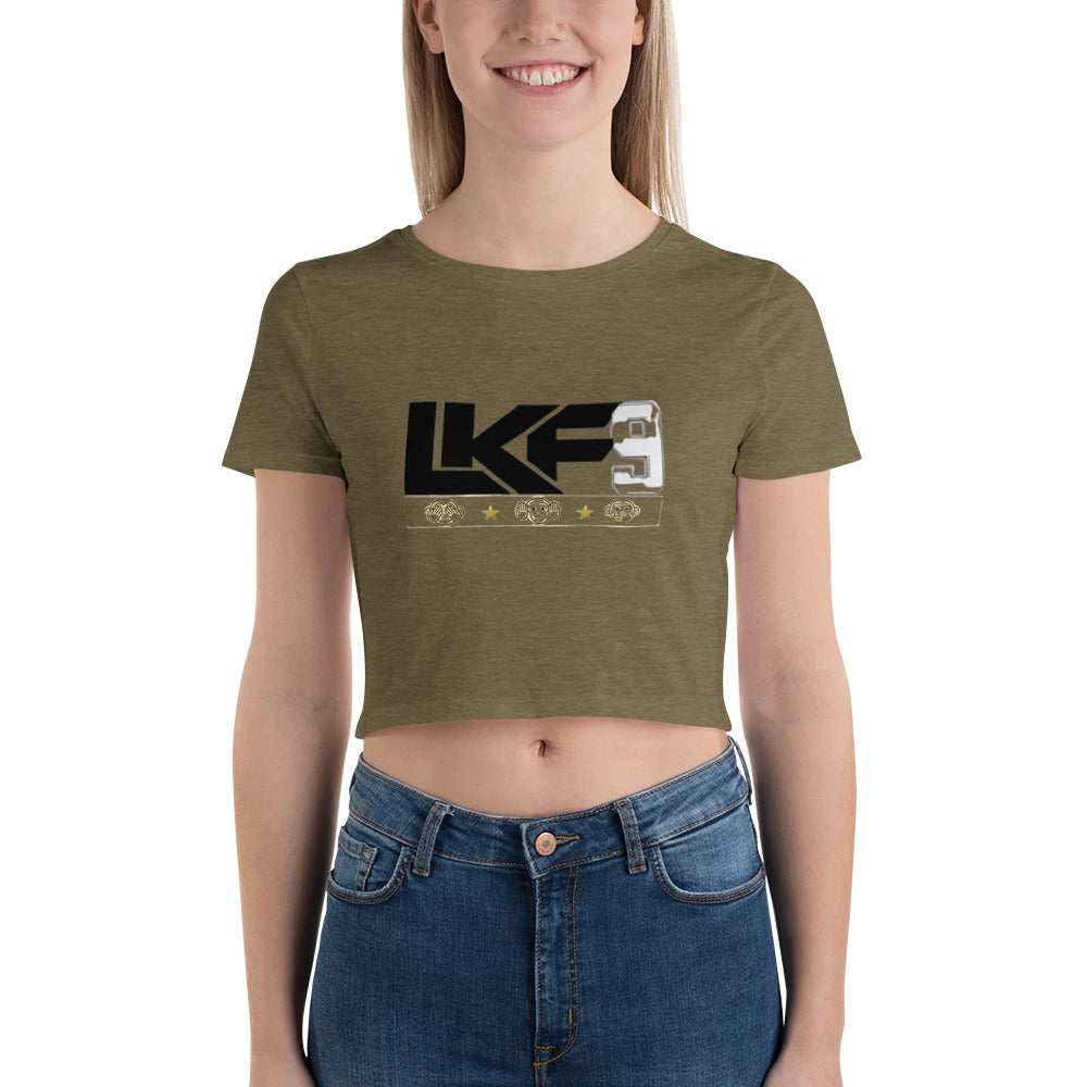 LKF9 Women's Crop Tee