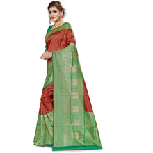 Load image into Gallery viewer, Xoofi fashion - Solid Jacquard Saree