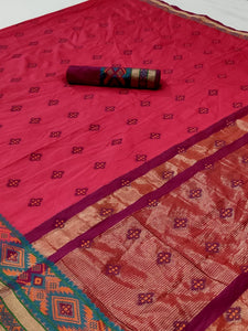 xoofi fashion - SILK WEAVING SAREE