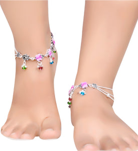 Xoofi fashion - Alloy Anklet Latest Fashion Jewellery for Girls Women