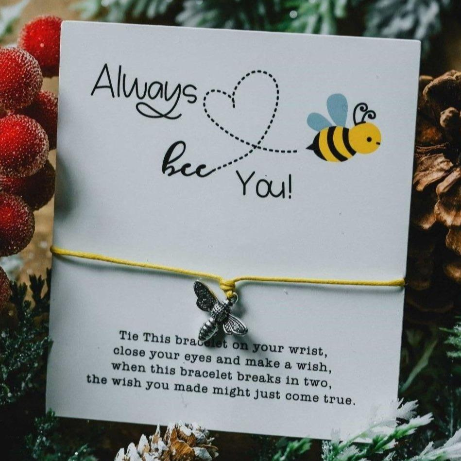 Bee You Bracelet Card