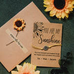 You Are My Sunshine Bracelet - Tie · Wish · Believe