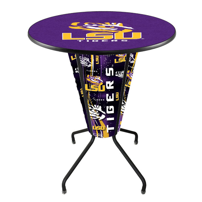 LSU Logo Lighted LED Table