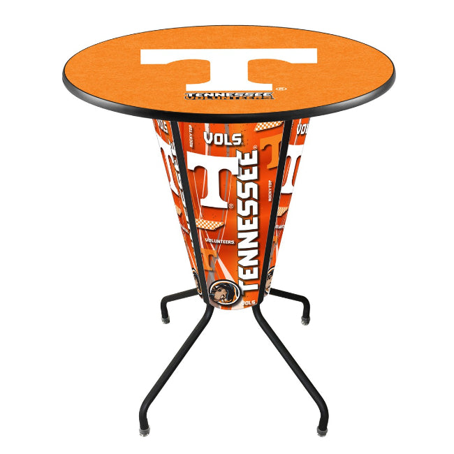 University of Tennessee Logo Lighted LED Table