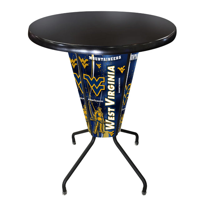 West Virginia University Lighted LED Table