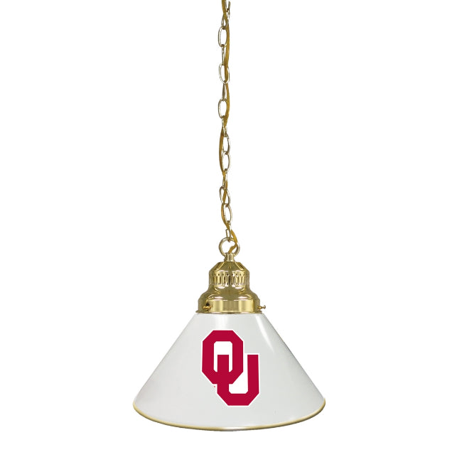 University of Oklahoma Pendant Light - Brass