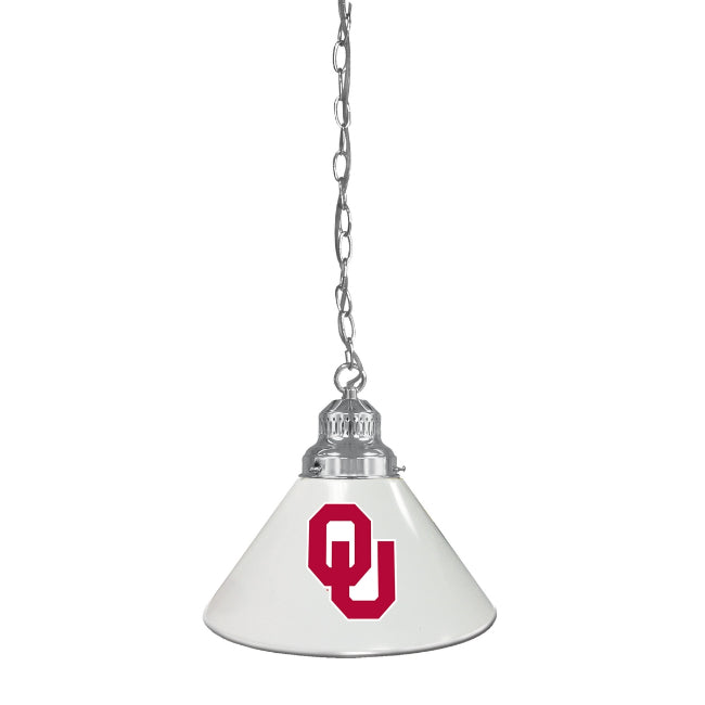 University of Oklahoma Pendant Light - Chrome