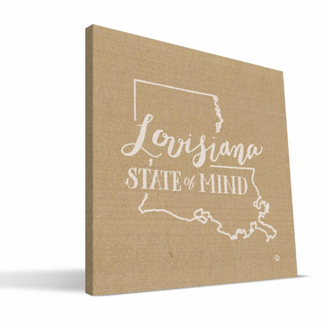 Louisiana State of Mind Canvas Print