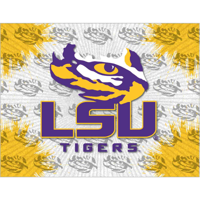 LSU Logo Spirit Canvas