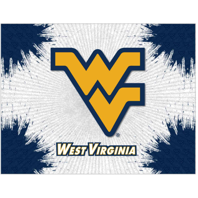 West Virginia University Logo Spirit Canvas