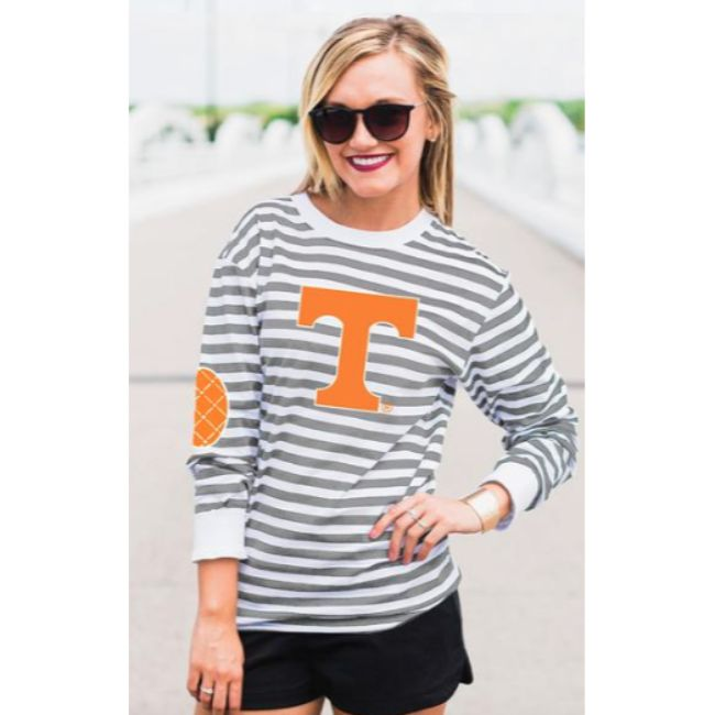 University of Tennessee Striped Elbow Patch