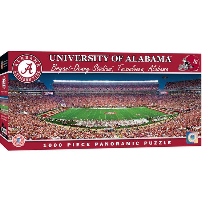 University of Alabama Bryant-Denny Stadium Panoramic Stadium 1000 Piece Puzzle
