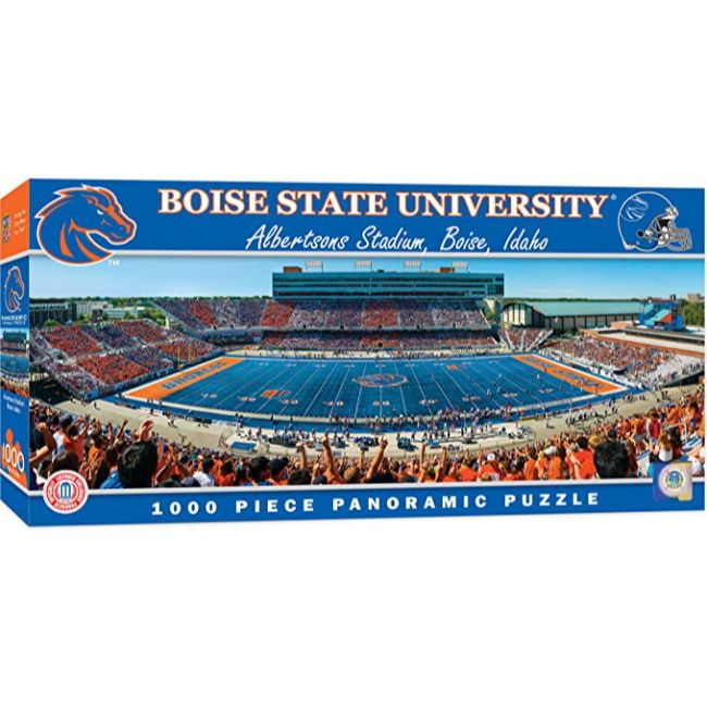 Boise State University - Albertsons Stadium 1000 Piece Panoramic Puzzle