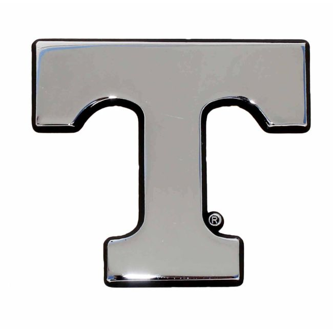 University of Tennessee Chrome Auto Emblem