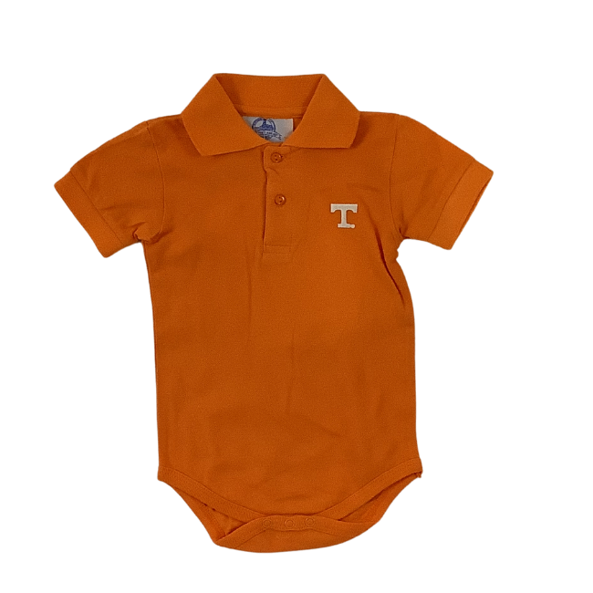 University of Tennessee Boys Polo Romper