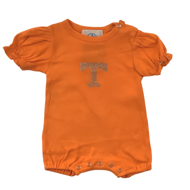 University of Tennessee Girls Romper