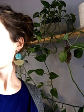 Load image into Gallery viewer, Denver Patina Earrings