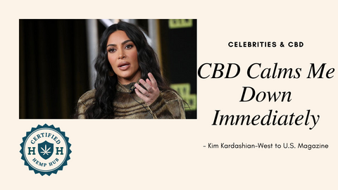 Kim Kardashian talks about how CBD can relieve stress while social distancing.