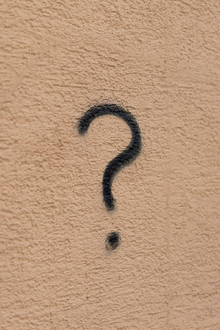 Question mark.
