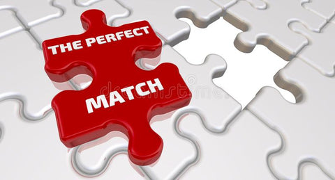 Puzzle piece perfect match with cbd products.