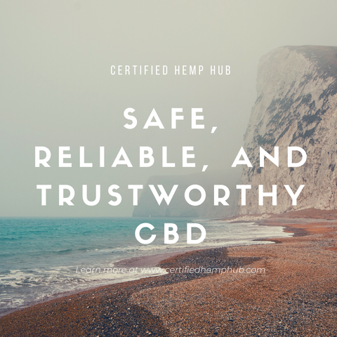 Safe, reliable, CBD products certified by the U.S. Hemp Authority.