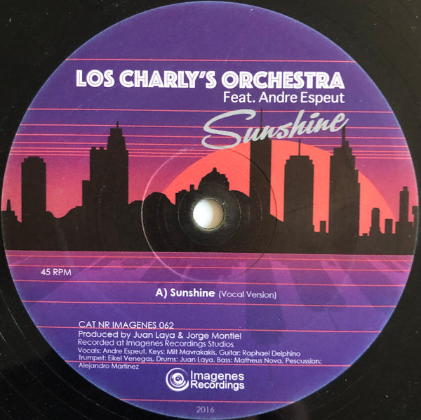Los Charly's Orchestra Feat. Andre Espeut – Sunshine 10""