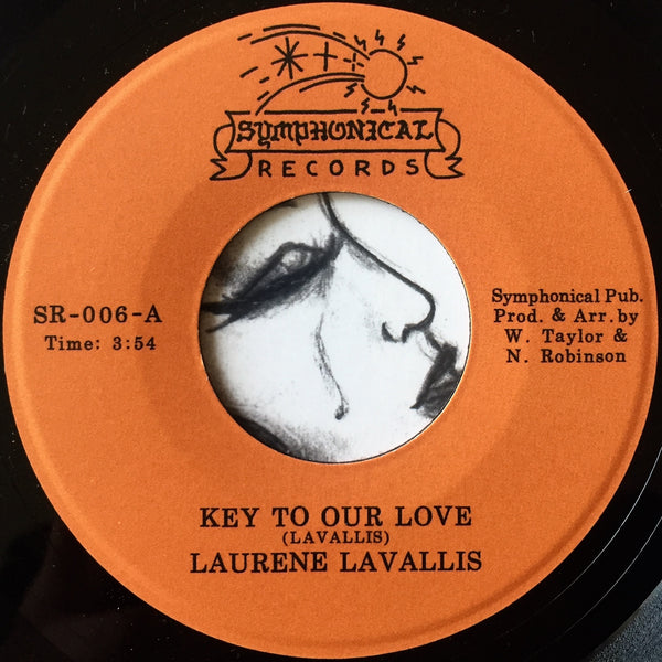 "Laurene LaVallis ‎– Love Don't Change / Key To Our Love 7"" (RE)"
