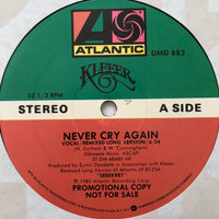 Kleeer ‎– Never Cry Again 12""