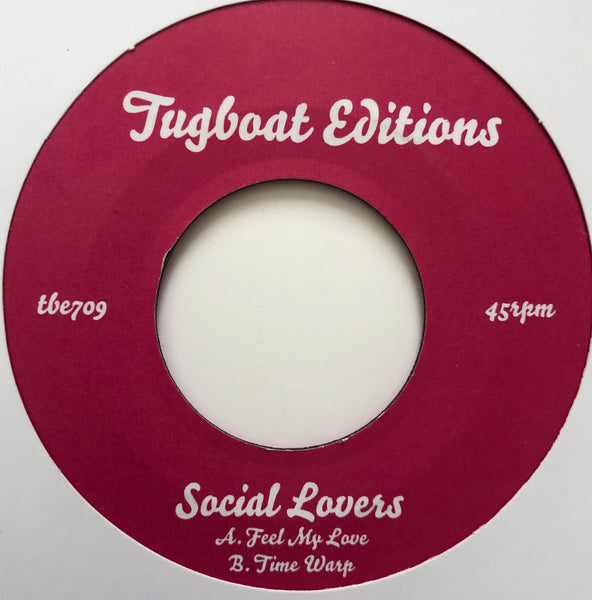 Social Lovers ‎– Feel My Love / Time Warp