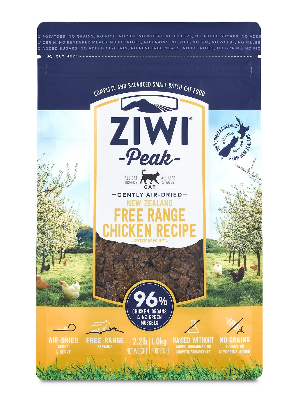 ZIWI® Peak Air-Dried Free-Range Chicken Recipe for Cats