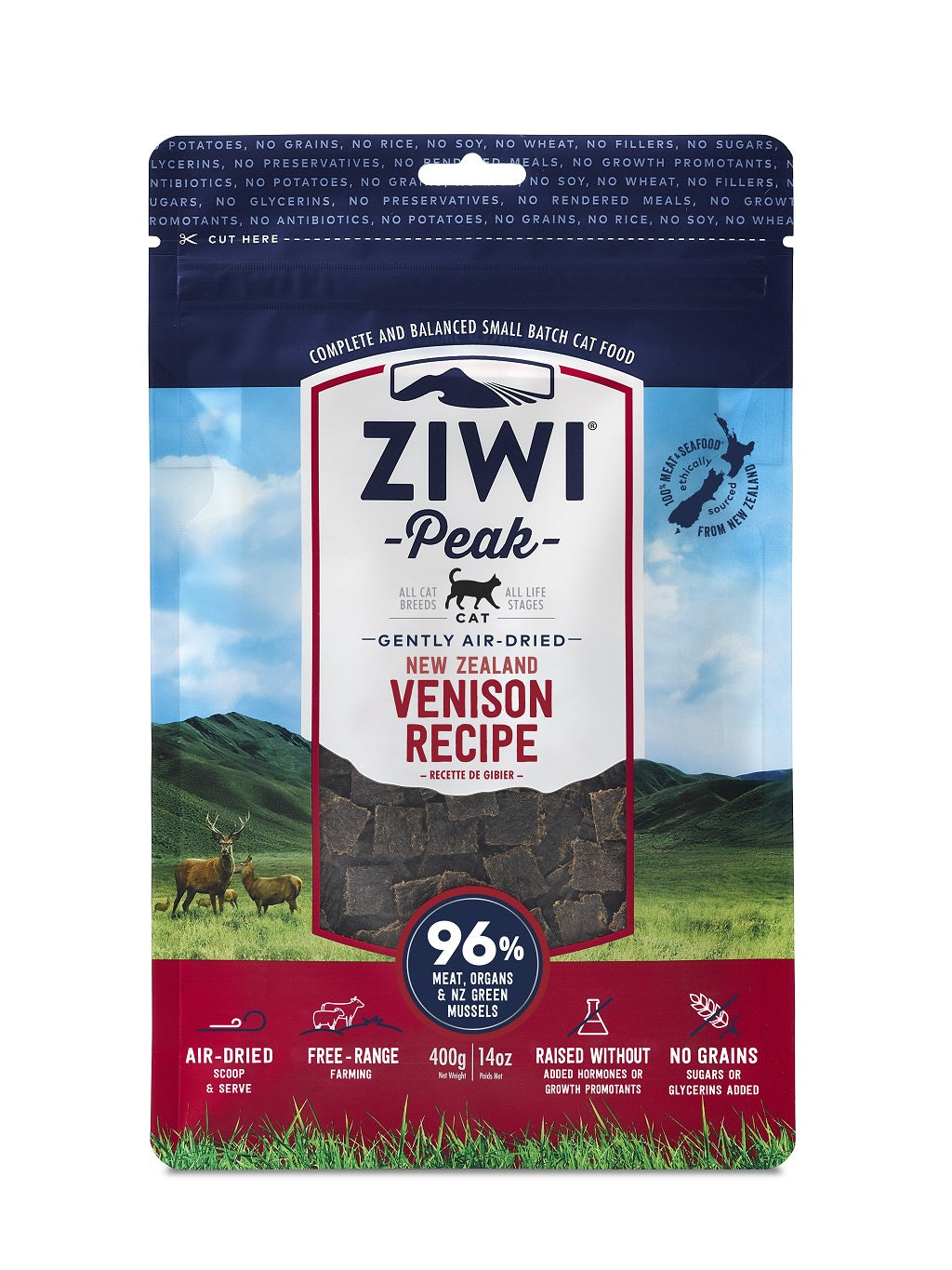 ZIWI® Peak Air-Dried Venison Recipe for Cats