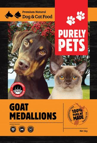 Purely Pets Goat Medallions