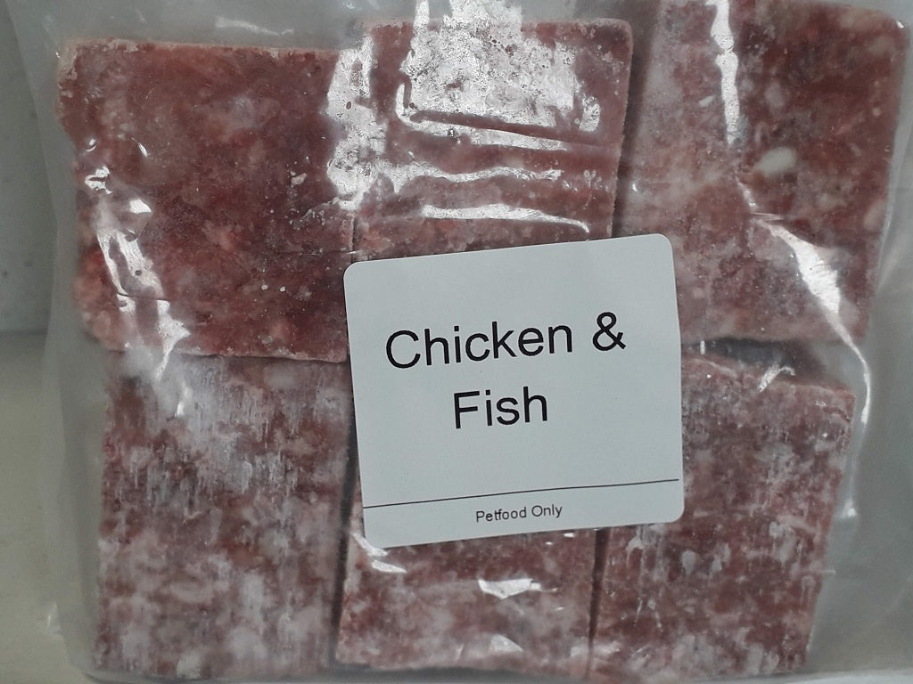 Chicken & Fish Mince