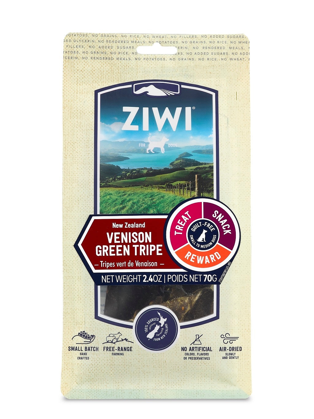 Ziwi Peak Venison Green Tripe Dog Chews