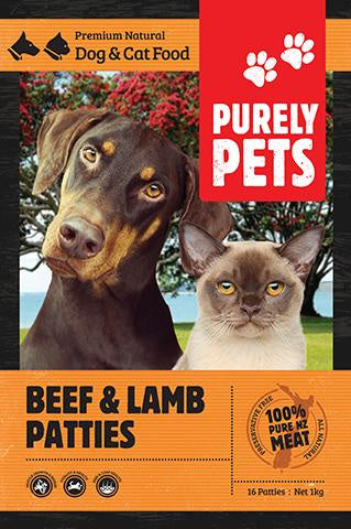 Purely Pets Beef & Lamb