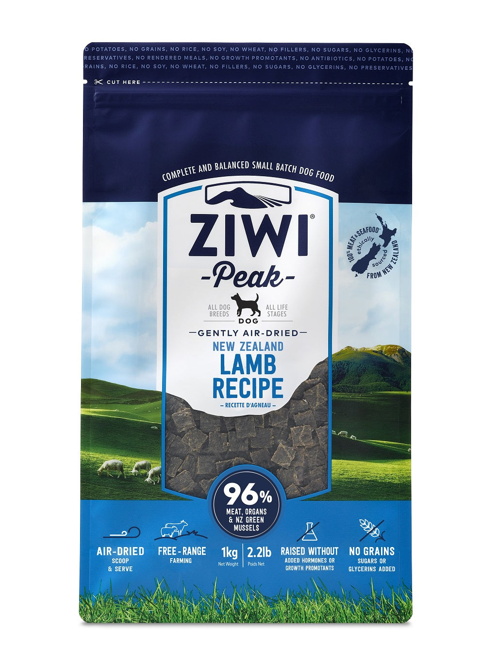 ZIWI® Peak Air-Dried Lamb Recipe for Dogs