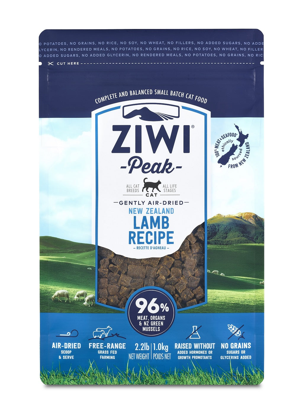 ZIWI® Peak Air-Dried Lamb Recipe for Cats