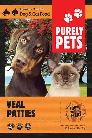 Purely Pets Veal Patties