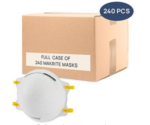 NIOSH Certified Makrite 9500-N95 Mask