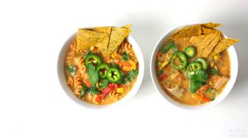 Fiesta Soup: 2 WAYS!