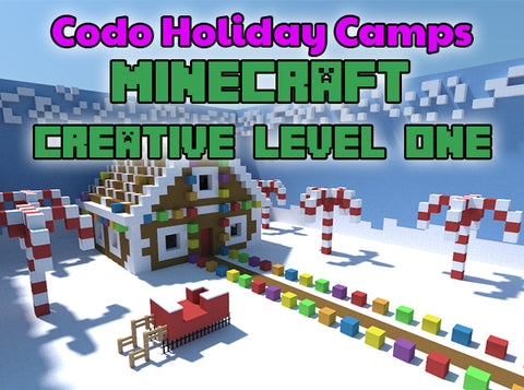Minecraft Holiday Camp - Creative Level 1
