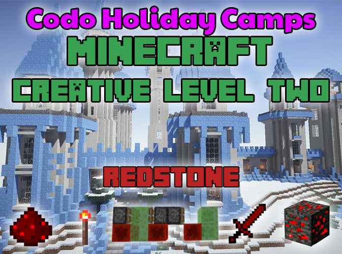 Minecraft Holiday Camp - Creative Level 2