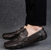 CARIMA Crocodile Loafers