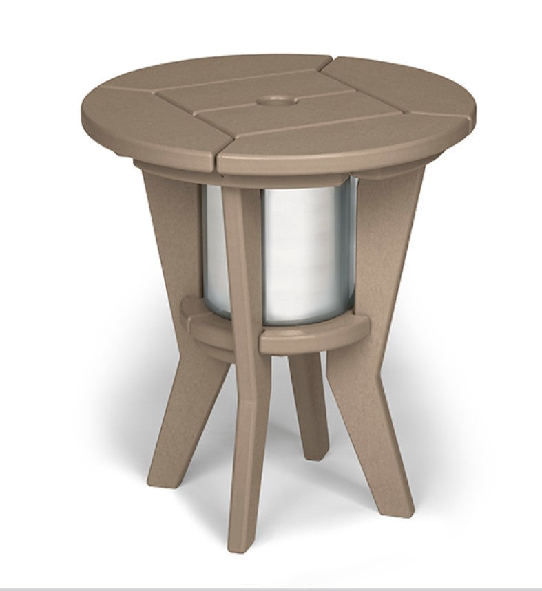 Chill Beverage Side Table - CI-1801 - Shipping about April 1, 2021